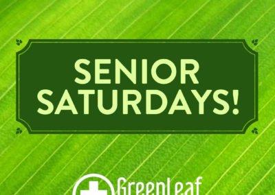 Senior Saturdays